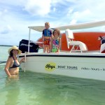 mom and kids Keys Boat Tours