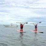 Keys Boat Tours paddleboard motor combo