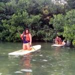 Keys Boat Tours paddling