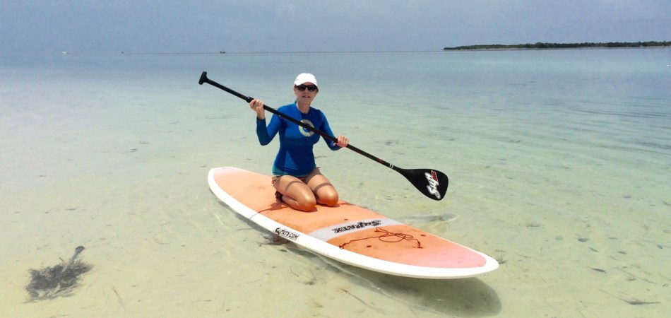 paddleboarding the Content Keys with Keys Boat Tours