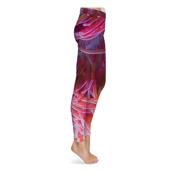 Sea Anemone Leggings - Pink