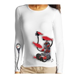 Pony Tank with Red Fish Long Sleeve