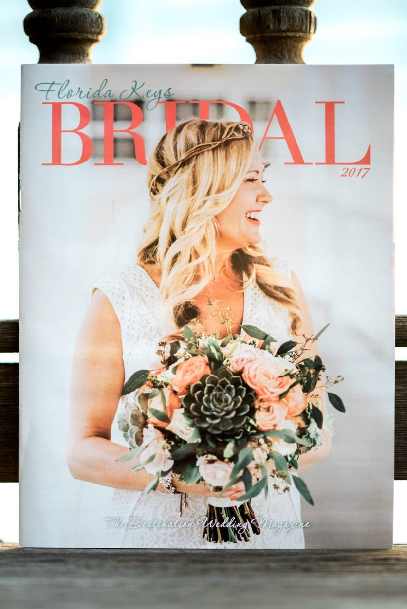 This is the owner of Keys Photo Booth on the cover of Florida Keys Bridal Magazine. The Photo Booth entertained the party for hours! If we can make the destination magazine... we just might know what is needed for a great party. Keys Photo Booth!!!