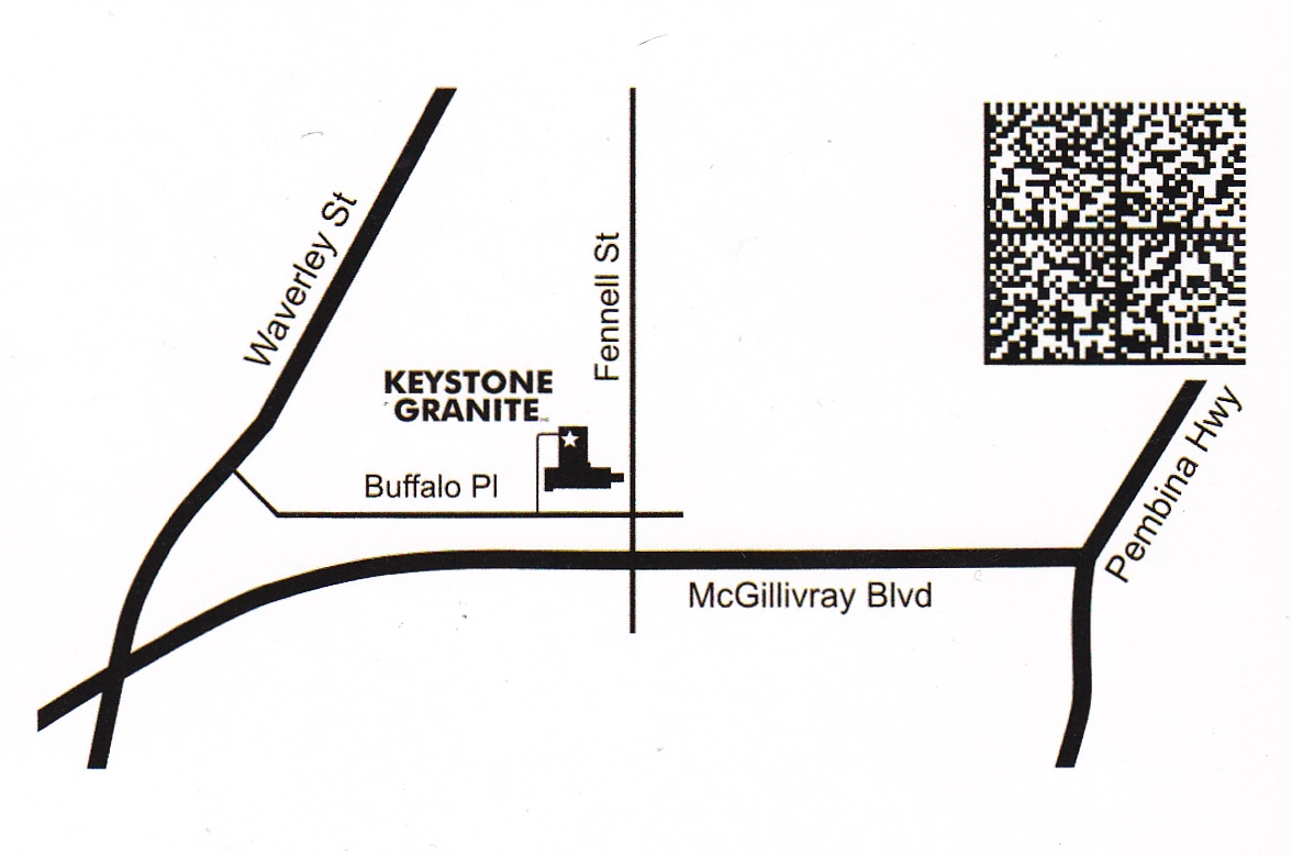 Keystone map