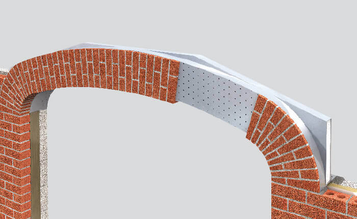 Keyslip Brick Feature Lintels Lightweight Brick