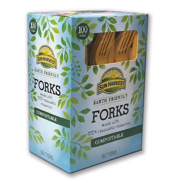 Forks • Keystone Paper & Box consumer packaging
