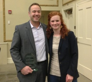 Rep. Fleck and Fiona
