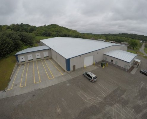 Keystone Warehousing Aerial View