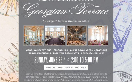 {WEDDING WEDNESDAY} ~ Brides & Grooms The Georgian Terrace Is For You!