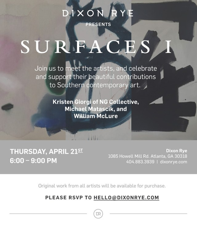 Dixon Rye Presents Surfaces I