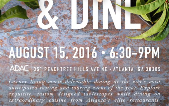 The Atlantan Presents To Live & Dine 2016