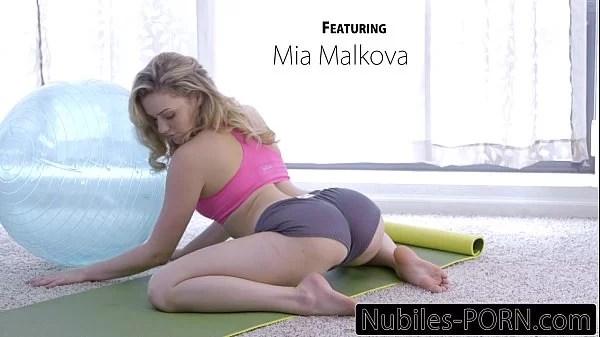 Nubiles-Porn Mia Malkovas Yoga Fuck – FULL VIDEO