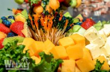 Bubba's Key West 2014 Gallery - A bowl of fruit and vegetable salad - Crudités