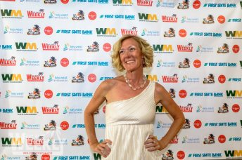Bubba's Key West 2014 Gallery - Simon Ward posing for the camera - Carpet