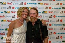 Bubba's Key West 2014 Gallery - A man and a woman standing in front of a store - Socialite