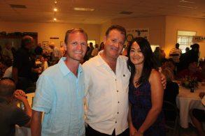 MIke Dunn, John and Arlene Mirabella
