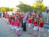 The little dancers from Jessica Richard's dance class take the stage for a holiday show.