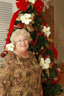 Realtor Lynn Goodwin attends the gala.
