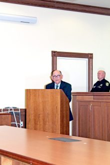 Monroe County Mayor Danny Kolhage has great things to say about the new judge.