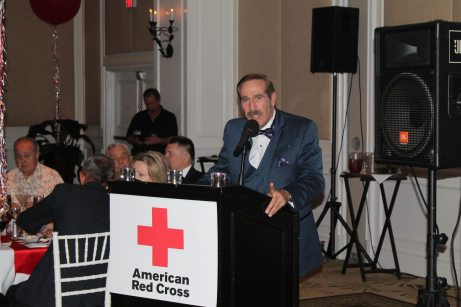 George Fernandez speaks about the Red Cross' mission.