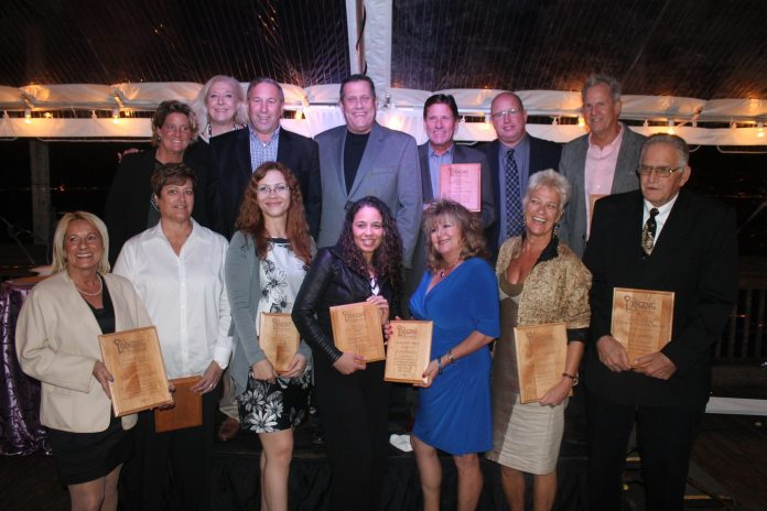 Key West Lodging Association Awards Banquet - A group of people posing for a photo - Lodging Association of the Florida Keys & Key West