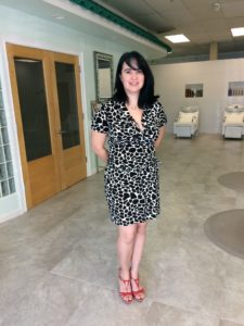 Melissa Blanco, owner of Salon Blanco, shows off her new space in Gulfside Village.