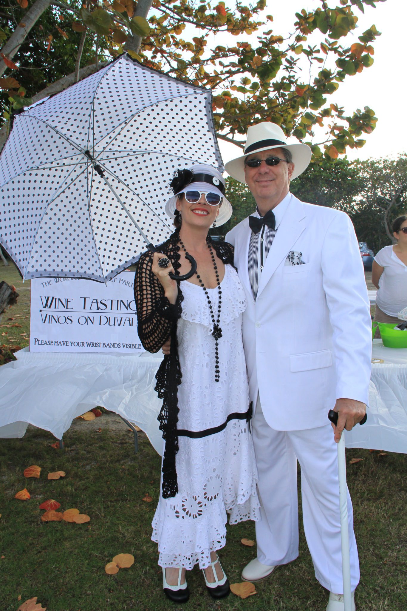 Best dressed couple Melody Cooper and Bob Bowersox are triumphant winners of this category.