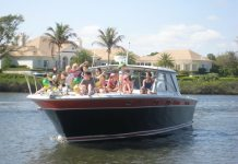 An Easter tradition – Twenty-five years of fun disaster - A small boat in a body of water - Florida Keys