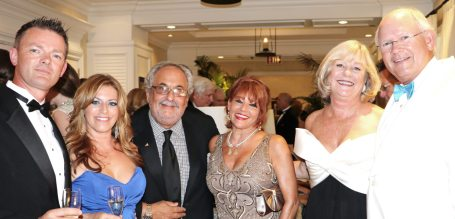 Jason Wall and Lourdes Torbisco, Gary and Sho Lichtenstein, Maxine Makover and Jack Paul have a ball at the gala.