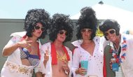 Sebago Watersports brings their best Elvis' for the event – earning the nod for most outrageous costumes.