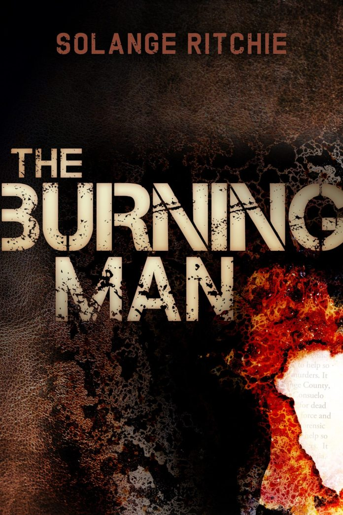 Former islander turns author - A close up of a book - The Burning Man