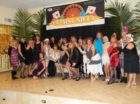The women of the BPW have a knack for dress up and fun.