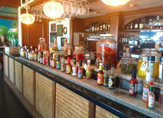 Brunch is about choice – at Hot Tin Roof, variety IS the spice - A store filled with lots of counter space - Alcoholic Beverages