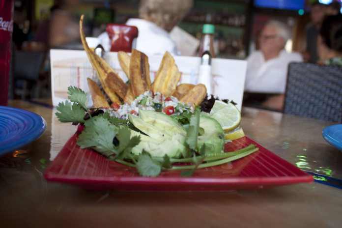 CATCH THE WAVE: Hang Loose at Lucy's - A plate of food on a table - Brunch