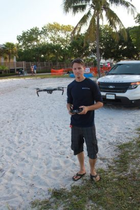 There's cool and then there's making-your-drone-hover-for-a-photo-cool. This is Sean Snowden of Coastal Source.
