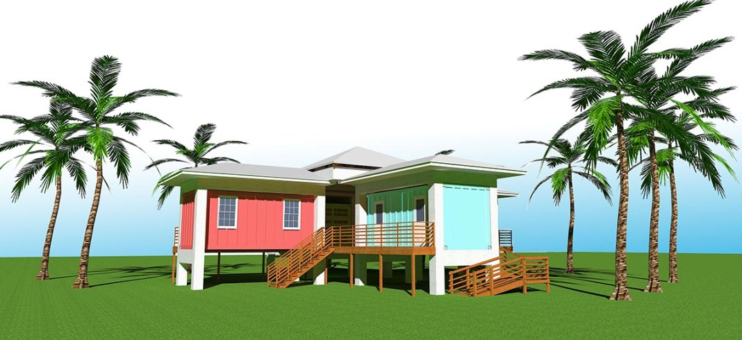 VOLUNTEER VILLAGE – Plans afoot to develop old Habitat site into temporary, simple accommodations - A large lawn in front of a palm tree - Florida Keys