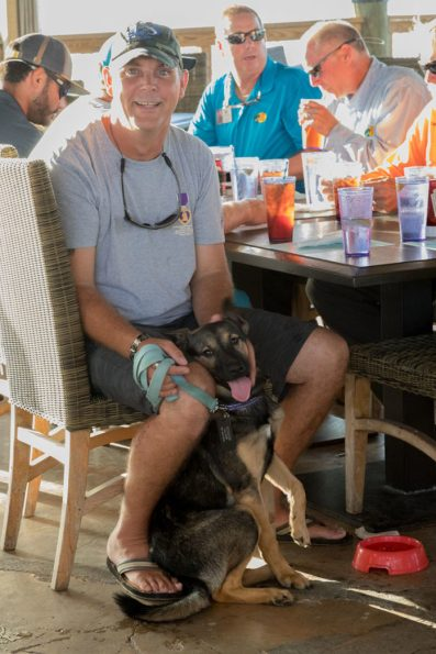 Sean McMahon travels to the Keys to fish with his puppy Summer.
