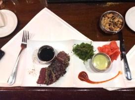 The Tuna Tataki appetizer. SARAH THOMAS/Keys Weekly