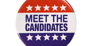 There Can Only Be Two: Marathon City Council Candidates Open Up at Forum - A close up of a sign - Ocean County