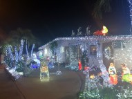 """1520 Catherine Street gives """"Winter Wonderland"""" a magical makeover. Check out the unicorn."""