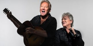 Air Supply bringing timeless tunes to Key West - Graham Russell, Russell Hitchcock are posing for a picture - Stiefel Theatre for the Performing Arts