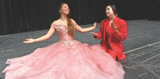UNDER THE SEA – Drama Club presents 'The Little Mermaid' - A girl in a pink dress - The Little Mermaid