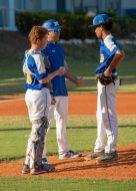 Marathon High baseball team begins season - A group of baseball players standing on top of a field - Baseball positions
