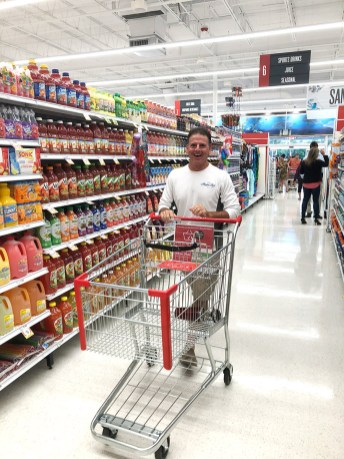 Winn-Dixie re-opens in Marathon - A person in a cart - Marathon