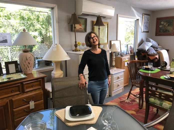 Thrifters, rejoice! Marathon now has to 2 nonprofit shops - A person in a living room - Florida