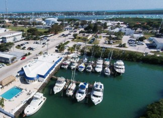 Marathon Yacht Club Hosts a Statewide Convention - A large body of water with a city in the background - Marathon Yacht Club