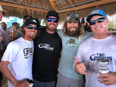Meet the handsome devils of Two Conchs Sport Fishing — Austin Harble, Dylan Brown, Mike Macko and Jack Carlson.