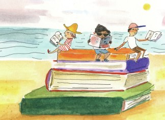 Summer Reads for Every Beach Bookworm - A stack of flyers on a table - Reading