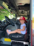 National Night Out – Key West Celebrates and Socializes with First Responders - A little boy sitting in a car - Car