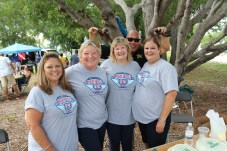 A NIGHT OUT – Key Largo community meets with first responders - A group of people posing for the camera - Picnic